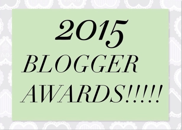 2015 Blogger Awards