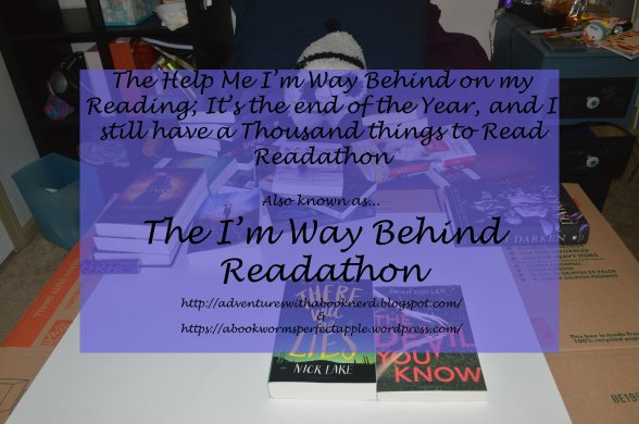 The I'm Way Behind Readathon