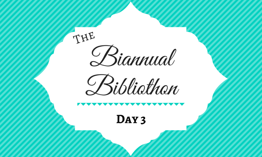 Summer Biannual Bibliothon 2017 Day 3