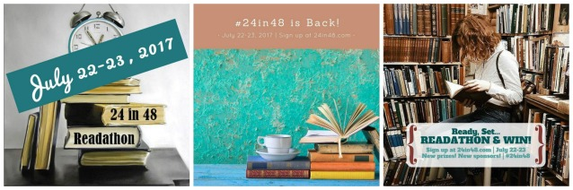 24in48 July 2017 readathon