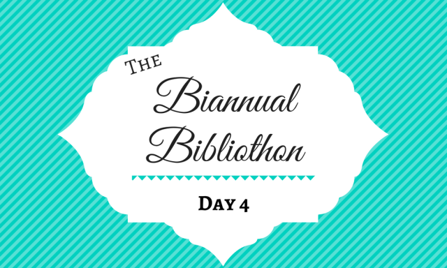 Summer Biannual Bibliothon 2017 Day 4
