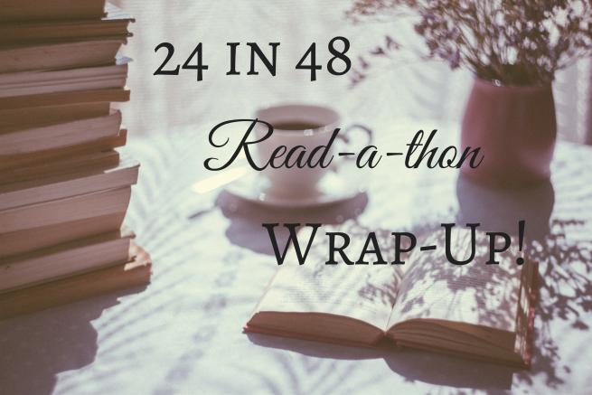 24 in 48 readathon wrap-up