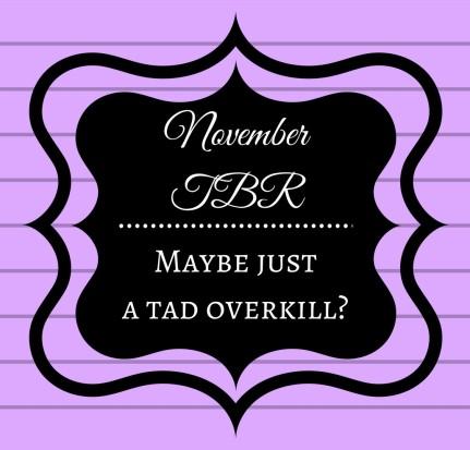 November TBR