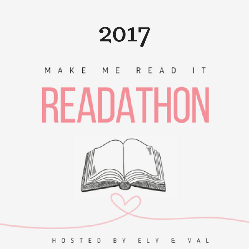 Make Me Read It Readathon 2018